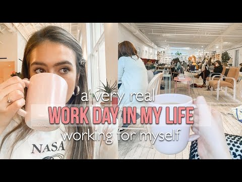 REAL WORK DAY IN MY LIFE: How I Structure My Day Working For Myself