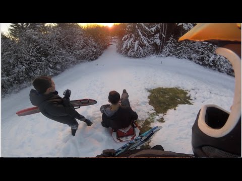 GoPro: Extreme Sledding Down a Mountain