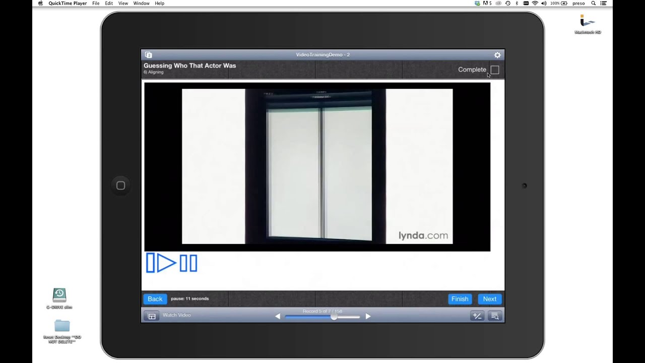 Filemaker    Html    Js Video Training Demo