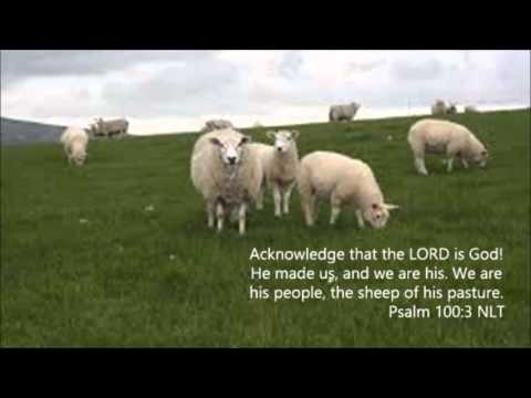 Psalm 100 Hymn with lyrics (We Are God's People)