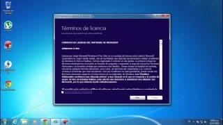 Tutorial para Actualizar Windows 7 a Windows 8 Pro Final
