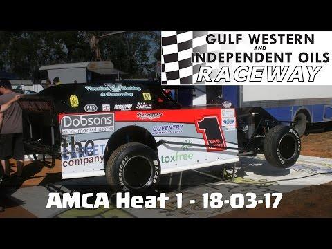 AMCA Heat 1 - Latrobe Speedway 18-03-17
