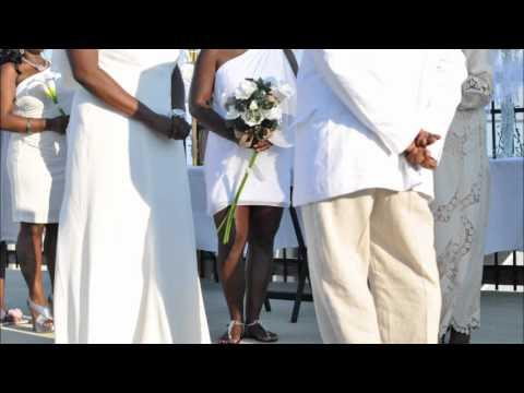 Apryl & Tanka Lucas Beach Wedding