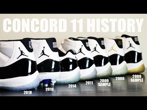 AIR JORDAN 11 CONCORD REVIEW / HISTORY