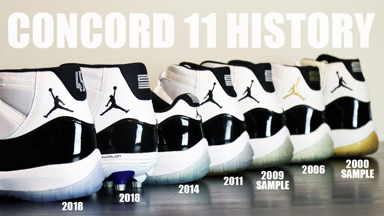 f25bcbe95c09 AIR JORDAN 11 CONCORD REVIEW   HISTORY - YouTube