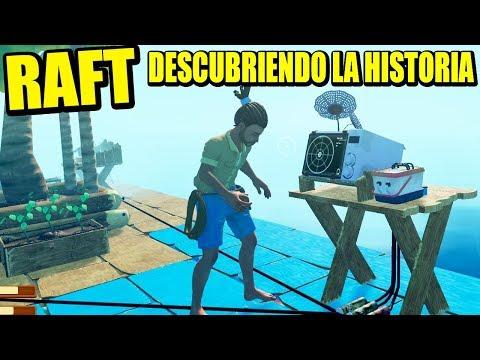 RAFT COOP - DESCUBRIMOS LA HISTORIA   Gameplay Español
