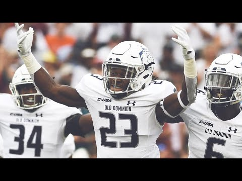 Old Dominion Upsets #13 Virginia Tech | 2018 CFB Highlights