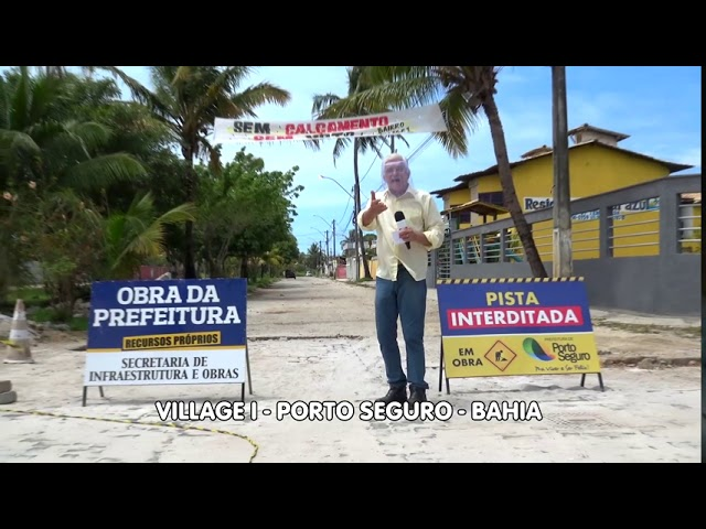 Operários fantasmas no Village I   Porto Seguro - Bahia