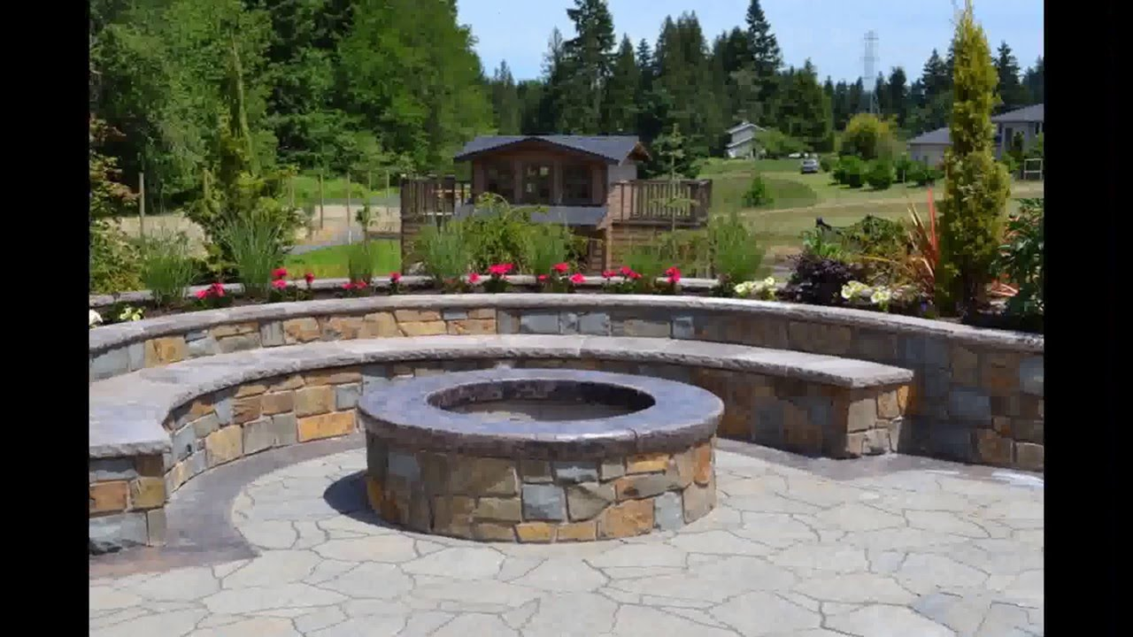 Backyard Landscaping With Fire Pit backyard fire pit designs | fire pit backyard designs - youtube