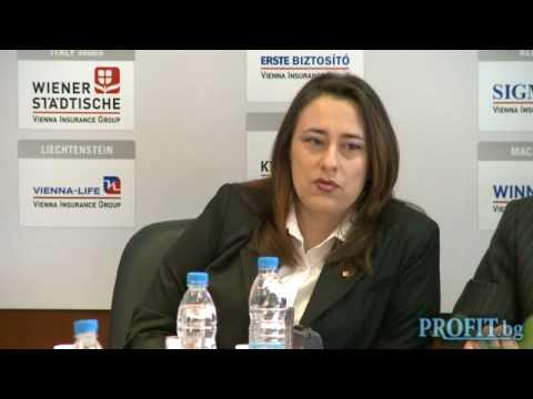 Svetla Nestorova, CEO of PLC Life Vienna Insurance Group
