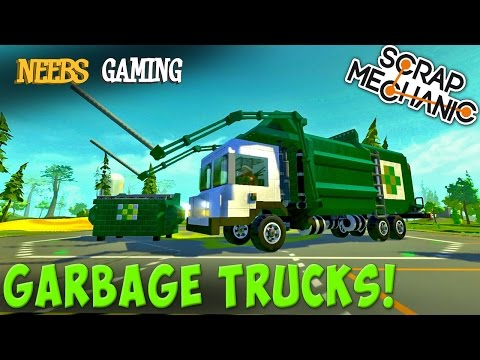 Scrap Mechanic - Garbage Truck Challenge!