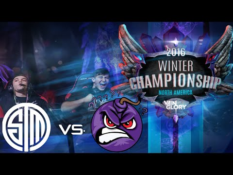 Vainglory NA Winter Championship HIGHLIGHTS: TEAM SOLO MID (1) DEBUT VS. THE RAGE PINGERS (8)