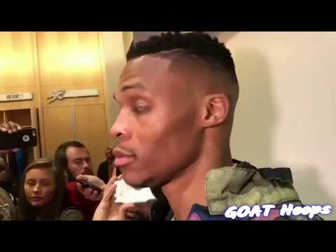 Russell Westbrook & Kevin Durant Postgame Interview - Thunder vs warriors