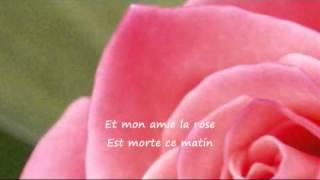 """""""Mon Amie La Rose""""   -   ( Françoise  Hardy )"""