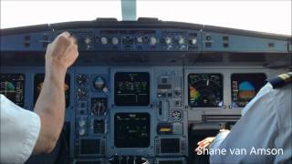 ✈ Surinam Airways A340 HD Cockpit PY993 FULL flight movie