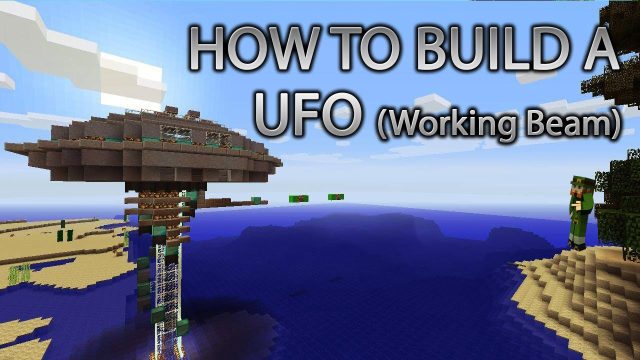 Minecraft Xbox 360 How to Build a UFO cRz Build Team