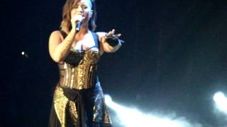"""Demi Lovato - """"Skyscraper"""" in San Diego, CA"""
