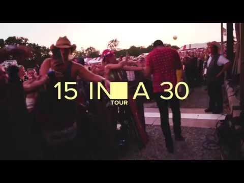 Sam Hunt - 15 In A 30 Tour