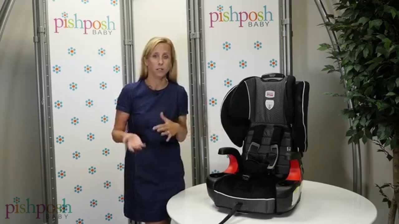 The All New 2015 Britax Pinnacle Clicktight Booster Seat