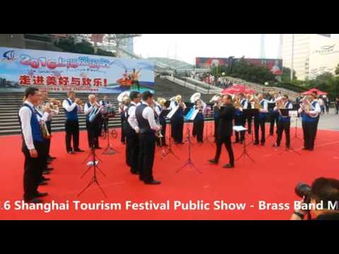 2016 Shanghai Tourism Festival public show-Brass Band MG Oberrüti, Switzerland-2