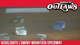 World of Outlaws Morton Buildings Late Models Smoky Mountain Speedway March 23, 2019 | HIGHLIGHTS
