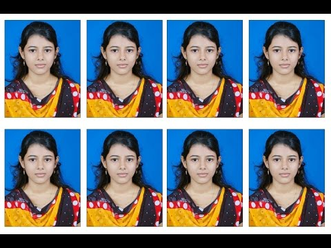 Create Photoshop Shortkut Action For Passport Size Photo In 6x4 Maxi