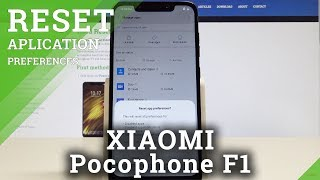 How to Reset App Preferences on XIAOMI Pocophone F1 - Restore App Settings