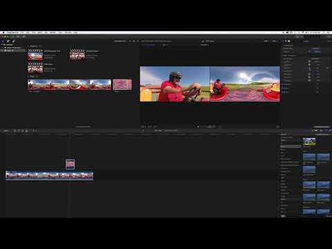 How To - Edit 360° Video with Final Cut Pro X