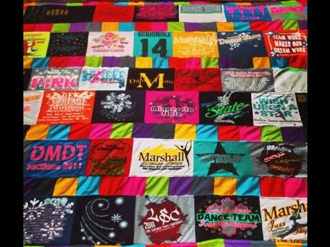 T Shirt Quilt Patterns Youtube