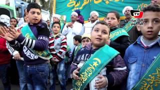 الطرق الصوفية تحتفل بـ«المولد النبوي» بمسيرة إلى «الحسين»