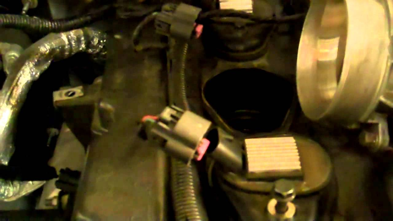 2002 Trailblazer Throttle Body Wiring Harness Guide And Chevy Diagram Gmc Envoy Replacing The Reduce Engine Power Code Rh Youtube Com 06 Honda Accord Fox Mustang