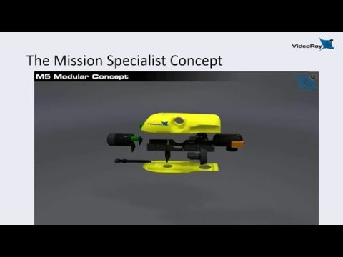 Introducing VideoRay Mission Specialist Series ROV Systems -