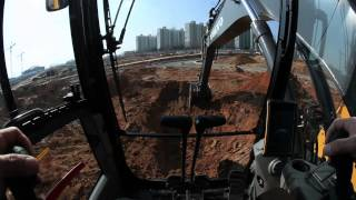 Volvo E-series crawler excavators: comfort you can count on
