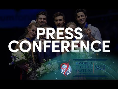 Ice Dance Overall Press Conference - Milano 2018