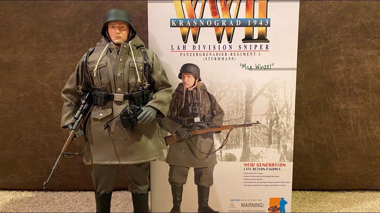 """Dragon World War Two LAH Division Sniper Sturmmann /""""Max winzel/"""" Krasnograd 1943"""