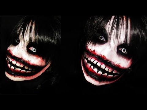 video clip hay jeff the killer creepy pasta makeup