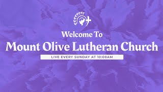 Mount Olive Lutheran Church - Greenwood, IN - Sunday Service
