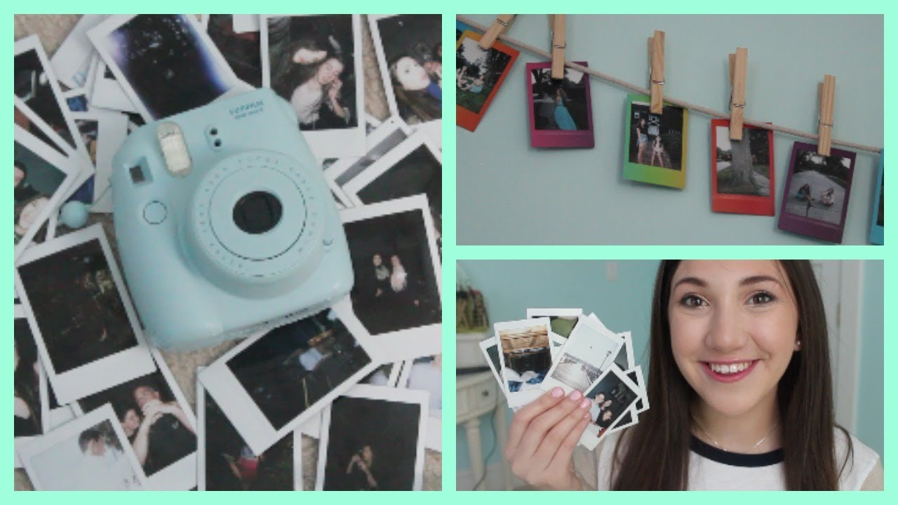How I Take My Polaroids