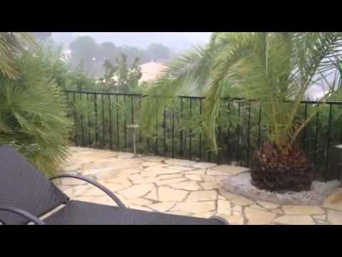 Uvejr i Belvedere 18.7