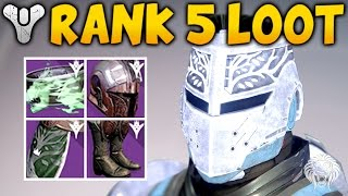 Destiny: IRON BANNER REWARDS! All Characters Rank 5 Packages & Loot Drops