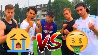 REICH vs ARM FUßBALL CHALLENGE | BROTATOS