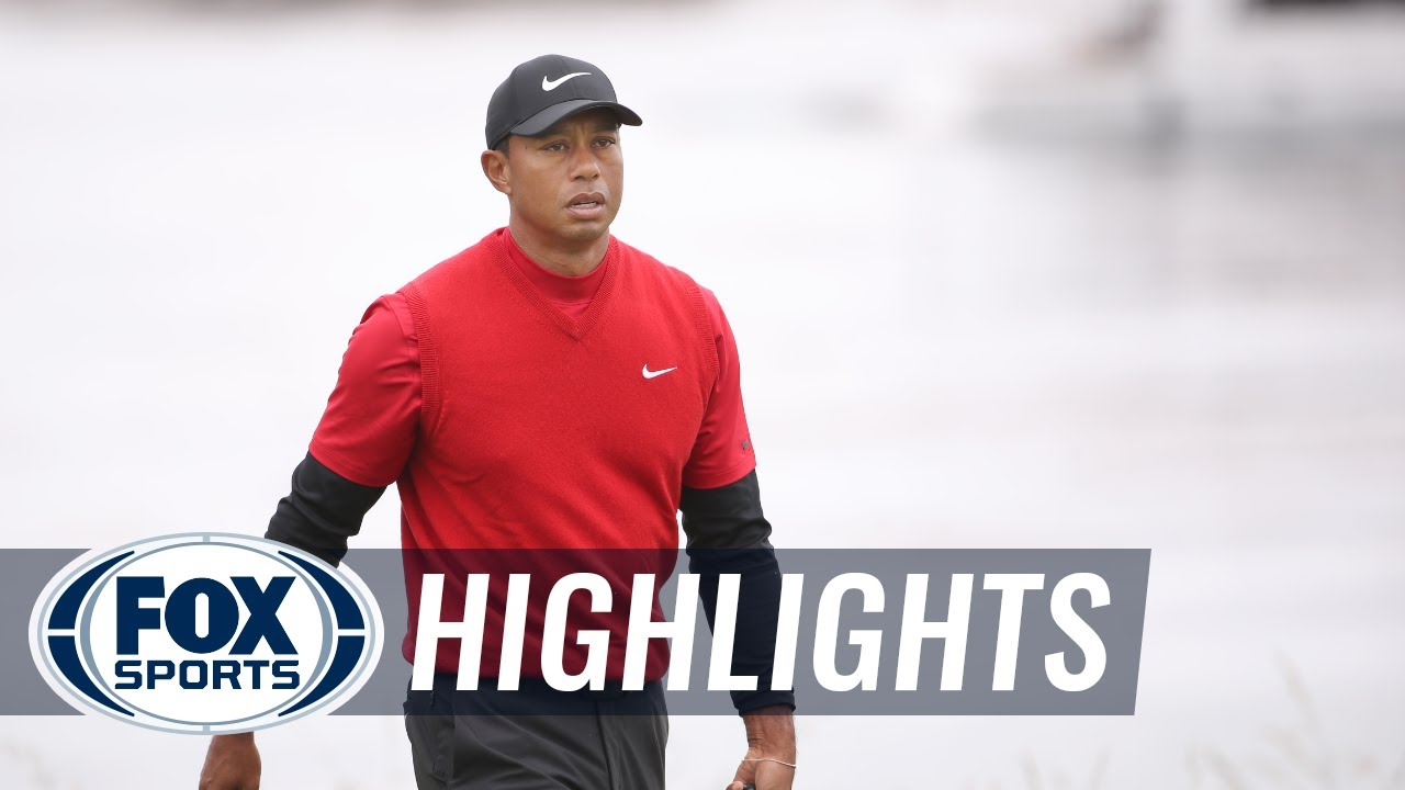 Round 4: Tiger Woods, Jason Day and Adam Scott   2019 U.S. OPEN HIGHLIGHTS