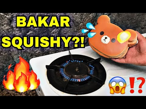 BAKAR SQUISHY LICENSED?!! New Squishies + Squishy Dares + LOST PACKAGE!