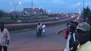 President Uhuru Kenyatta's Motorcade