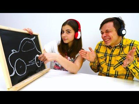Челлендж в наушниках - Сложный уровень - Игры для детей