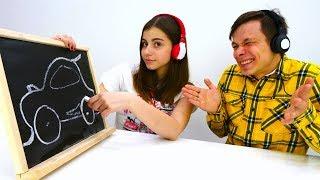 Челлендж в наушниках - Сложный уровень - игры для девочек