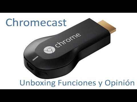 Google Chromecast (SmartTV): Instalación, Características y Análisis (Español)