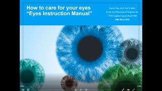 Your Eyes Instruction Manual Part 1