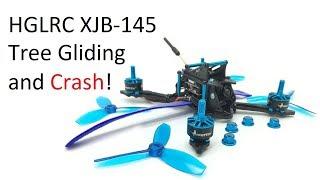 XJB-145 Tree Gliding and Crash