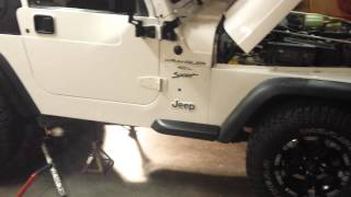 Jeep Project Begins